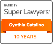 Super Lawyers 10 Years plaque