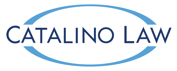 Catalino Law Logo largest blue/white