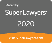 Super Lawyers 2020 plaque